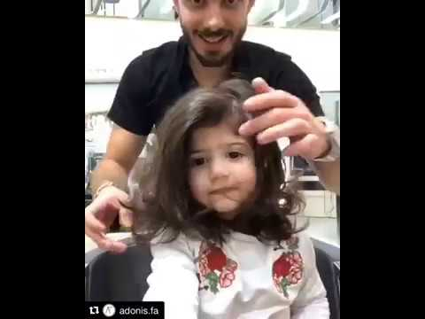 SIA - My little baby girl first haircut !!! ❤️ Sia Halawi