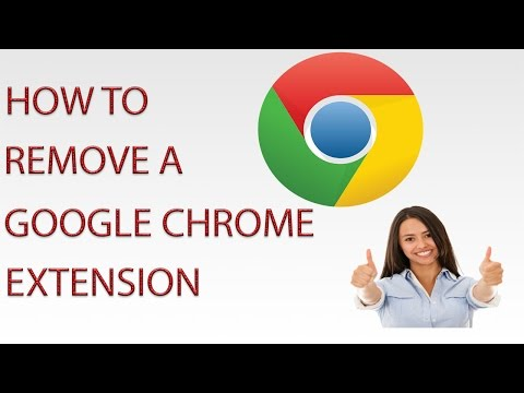 How to Delete a Chrome Extension - 2015