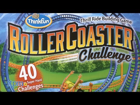 Roller Coaster Challenge from ThinkFun