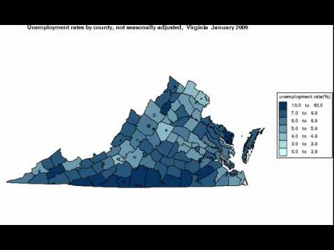 Virginia Unemployment Filing Statistics