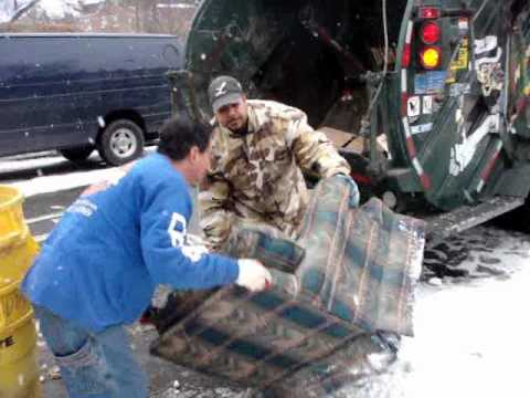 Video of old House Junk furniture Removal in New York City Rubbish Cleanout Job