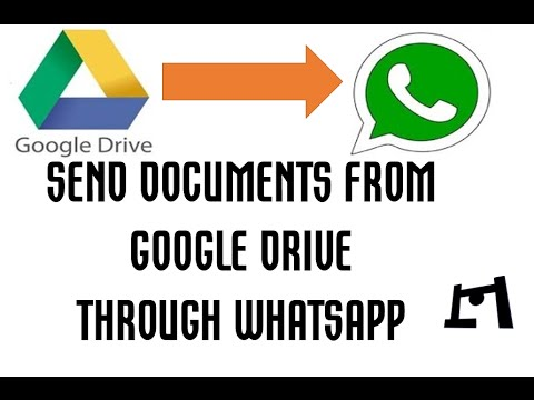How To Send Documents From Google Drive Through Whatapp | [Latest Feature]