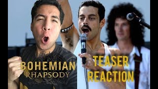 Bohemian Rhapsody | Teaser Trailer Reaction