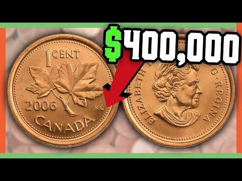 RARE CANADIAN PENNIES WORTH MONEY - VALUABLE COINS IN POCKET CHANGE!!