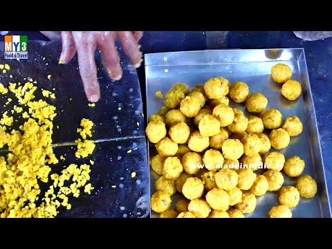 HOW TO MAKE TIRUPATI BUNDI LADDU | MOST POPULAR SWEET IN THE WORLD | AMAZING COOKING SKILLS