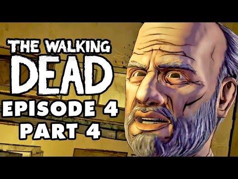 The Walking Dead Game - Episode 4, Part 4 - Savannah Sewers (Gameplay Walkthrough)