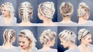 Fantastic 10 Easy Hairstyles For Short Hair Short Hairstyles Gunalazisus