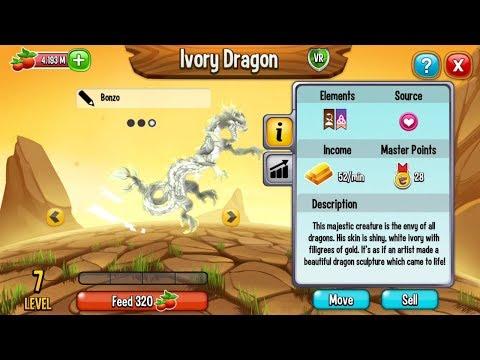 Dragon City | New Ivory Dragon Full Animation