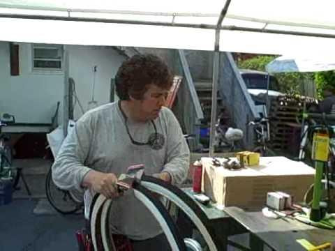 26x1.75 White Wall Bike Tire