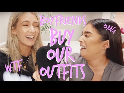 OUR BOYFRIENDS BUY US A DATE NIGHT OUTFIT! | Sophia and Cinzia