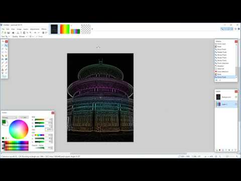 Tutorial: How to make simple 3+ colored gradients using paint.net, a free paint program for Windows