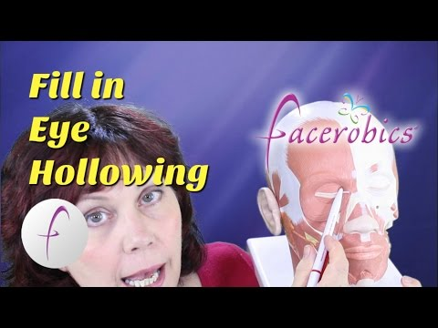 Reverse Aging with Facial Exercises to Reduce Eye Hollowing Sunken Eyes Dark Circles | FACEROBICS®