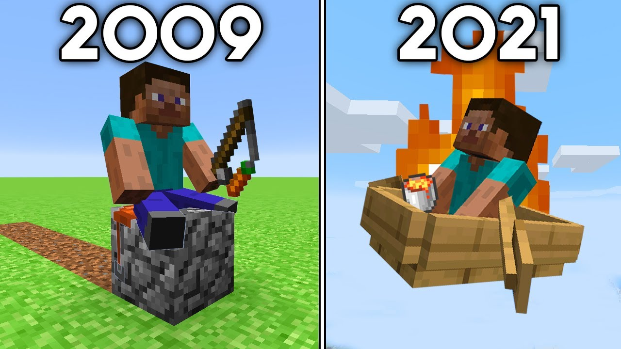 Minecraft's History of Travel