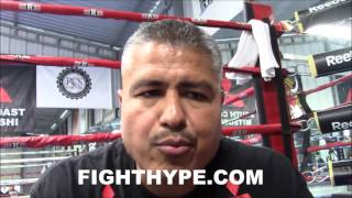 ROBERT GARCIA SAYS BRONER IS TOUGHER, BUT LOMACHENKO TECHNICALLY HARDER FIGHT FOR MIKEY GARCIA