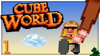 Cube World 2.0 - #1 - THE WAIT IS OVER! (4-Player Beta Gameplay)