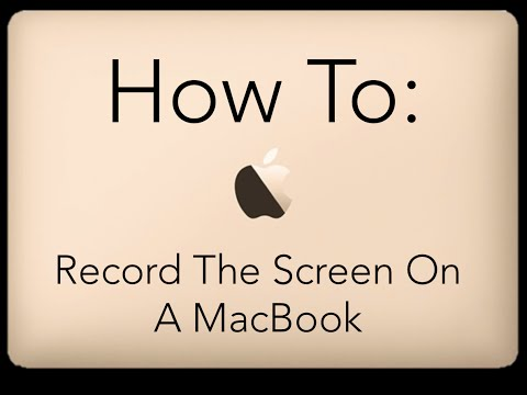 How to Record Screen On MacBook Without Software