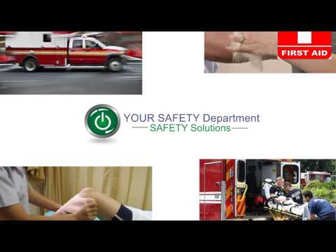 CPR, AED and First Aid Training | Your Safety Department | 888-859-5653