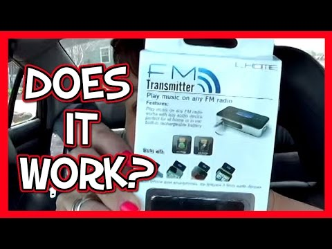 Does it Work? FM Transmitter for the Car