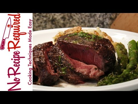 How to Cook Filet Mignon In The Oven - NoRecipeRequired.com