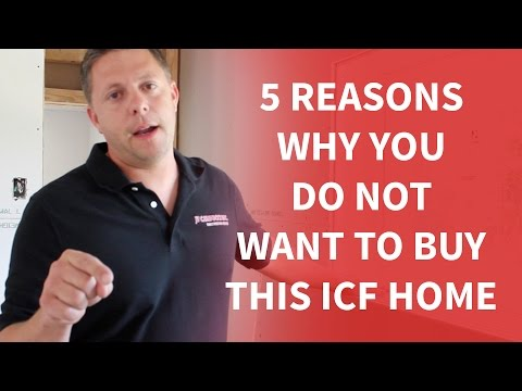 5 Reasons Why You Do Not Want To Buy This ICF Home