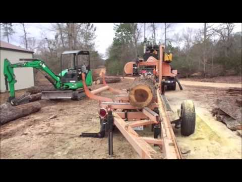 How to make lumber from a tree
