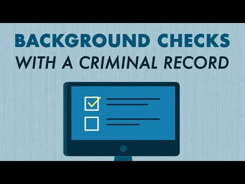 Background Checks and Criminal Records