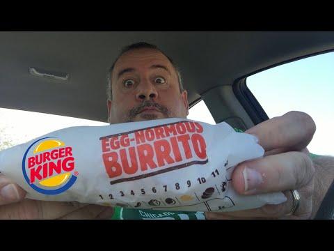 Burger King Egg-normous Burrito Food Review