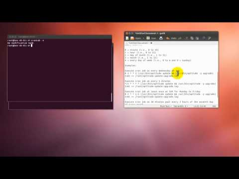 How To Automatically Update And Upgrade Ubuntu With Crontab Using Cron Job Command Line