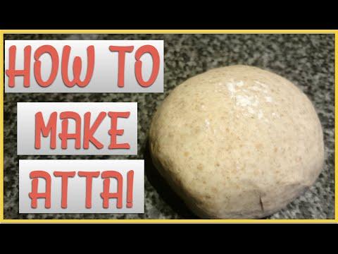 HOW TO MAKE ATTA! | ROTI | CHAPATI DOUGH