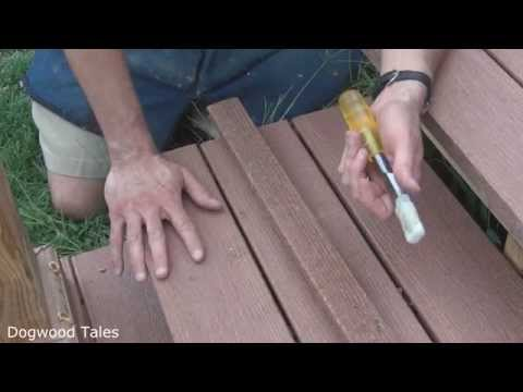 Deck-Porch install - Plugging Screw Holes