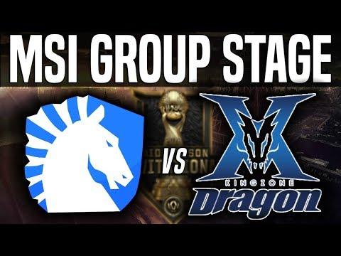 TL vs KZ - MSI 2018 Group Stage Day 3 - Team Liquid vs Kingzone DragonX | League of Legends MSI 2018