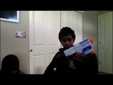 Real Nerf Gun that shoots bullets? -Test