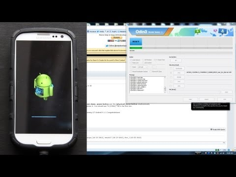 How To Flash Android 4.1.1 LJ7 Jelly Bean on the Samsung Galaxy S III via ODIN