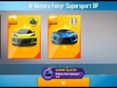 THE NEW FASTEST WAY TO GET BLUEPRINTS IN ASPHALT 8