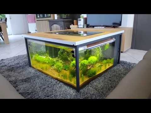 Preview Industrial Coffee Table Aquarium