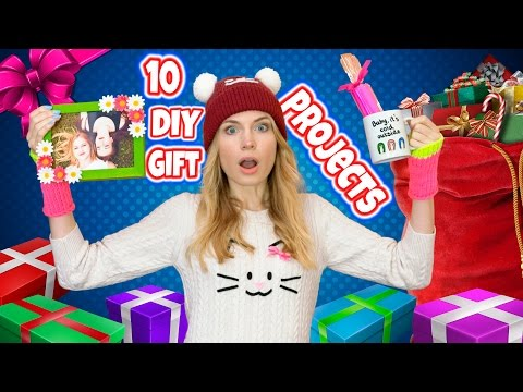 DIY Gift Ideas! 10 DIY Christmas Gifts & Birthday Gifts for Best Friends
