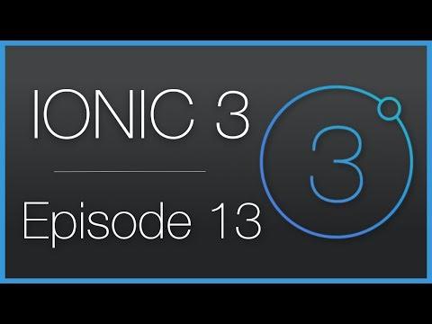 Ionic 3 • Lire des fichiers audio, création d'une
