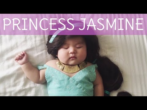 How To: Princess Jasmine Baby Costume