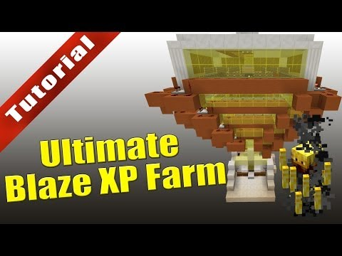 Minecraft - Tutorial: Ultimate Blaze XP Farm