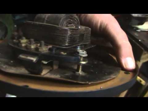Clynton's Shed - Vintage GE fan restoration