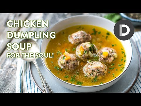 Chicken Dumpling Soup For the Soul!