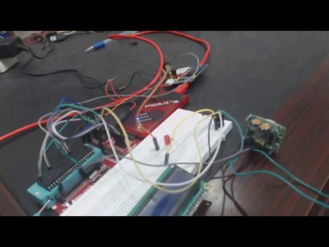 Home security system using gsm and PIR sensor