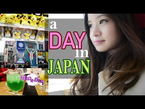 A Day in JAPAN | Flying to Osaka, Food & Shopping, Pokemon Centre!