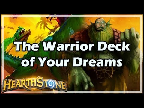 [Hearthstone] The Warrior Deck of Your Dreams