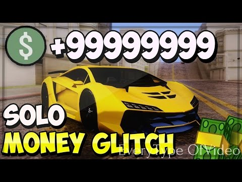 GTA 5 ONLINE SOLO MONEY GLITCH 1.40 (STILL WORKING) PS4