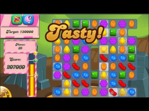 candy crush saga how to beat level 35 - 3 stars no booster