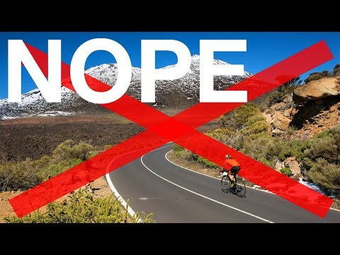 CANCEL Tenerife Cycling Trip?