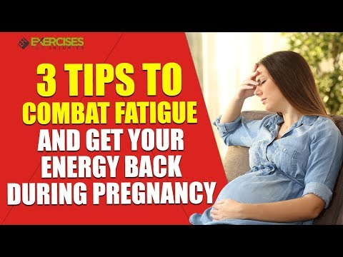 3 Tips to Combat Fatigue and Get Your Energy Back During Pregnancy with Colleen Riddle