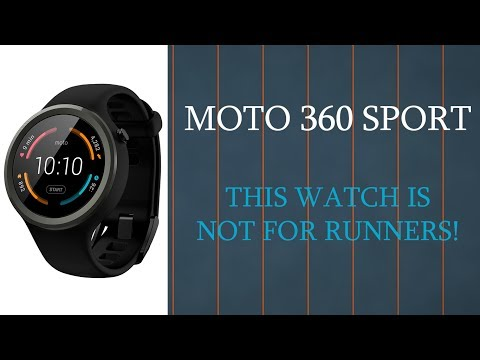 Why I Don't Recommend Moto 360 Sport For Runners!
