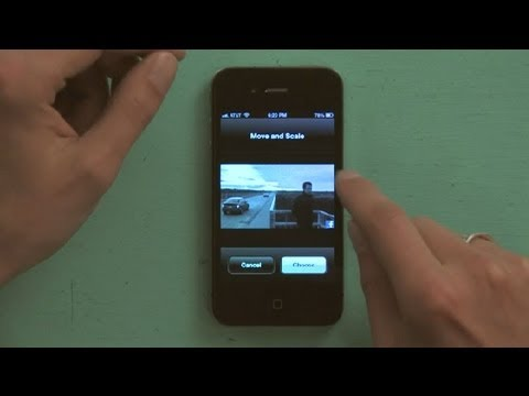How to Make a Caller ID Picture Larger on an iPhone : iPhone Tips
